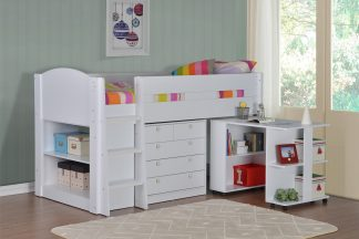 Flintshire Furniture Frankie midsleeper White
