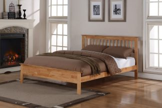 Flintshire Pentre bed Oak Finish